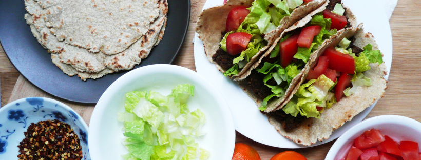 Oat Flour Tortillas