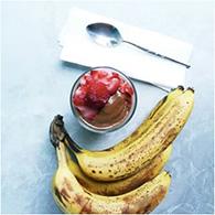 Chocolate Banana Soft Serve Ice Cream