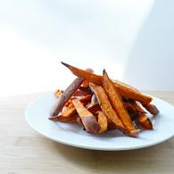 sweet and creamy sweet potato fries