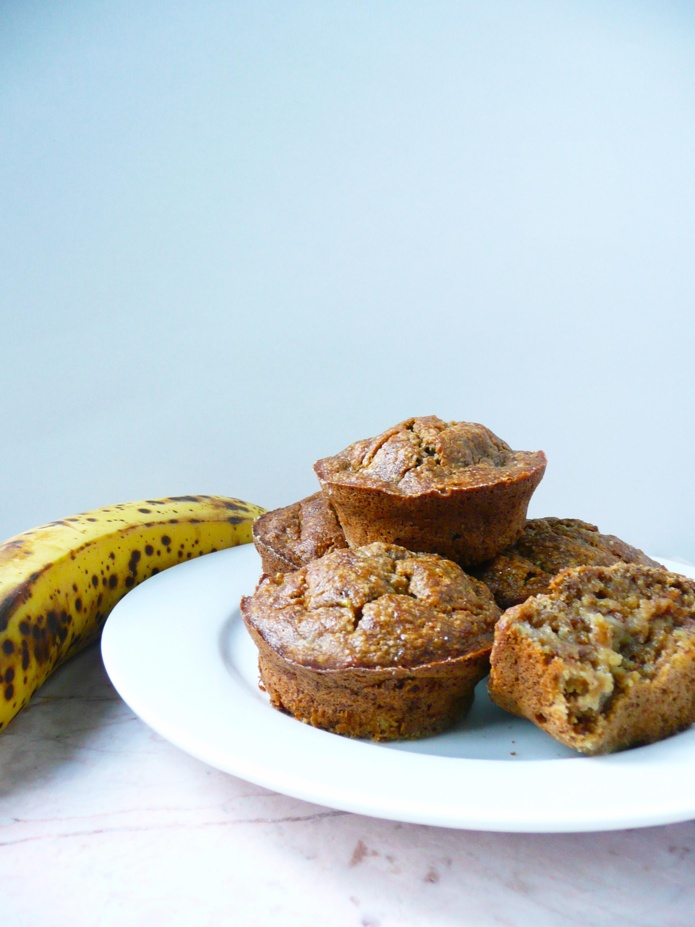 Banana Bread Muffins 1