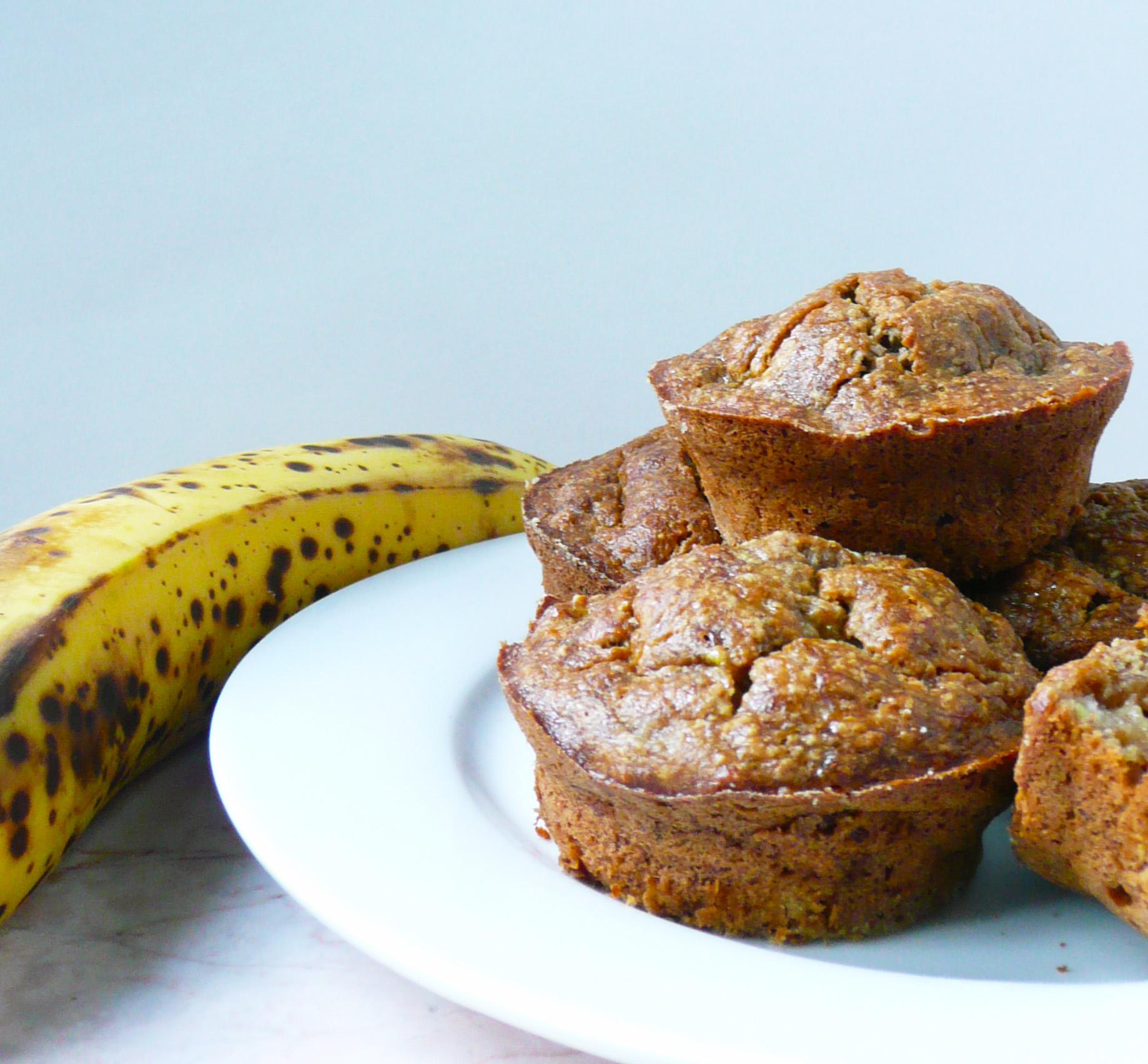 banana bread muffins 2