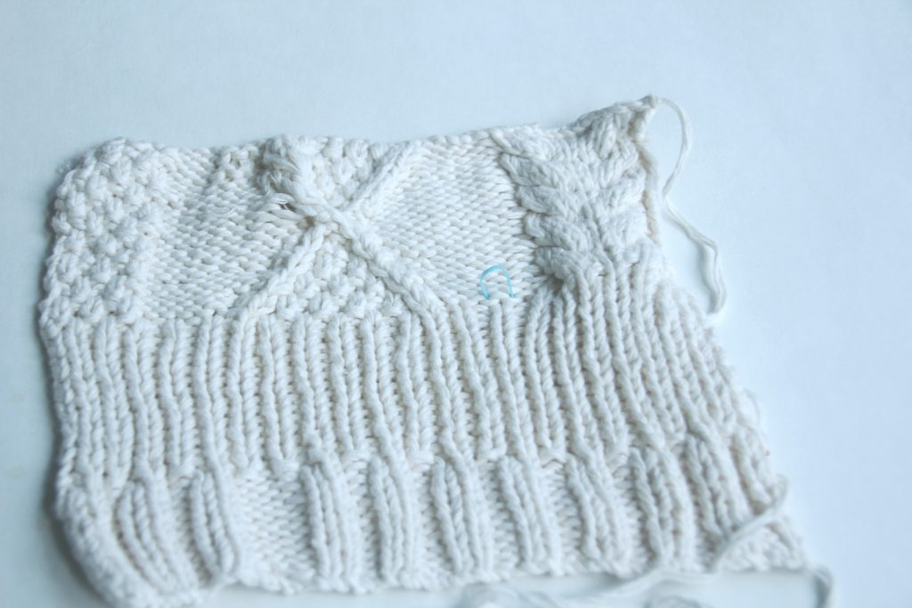 Aran Sweater Swatch