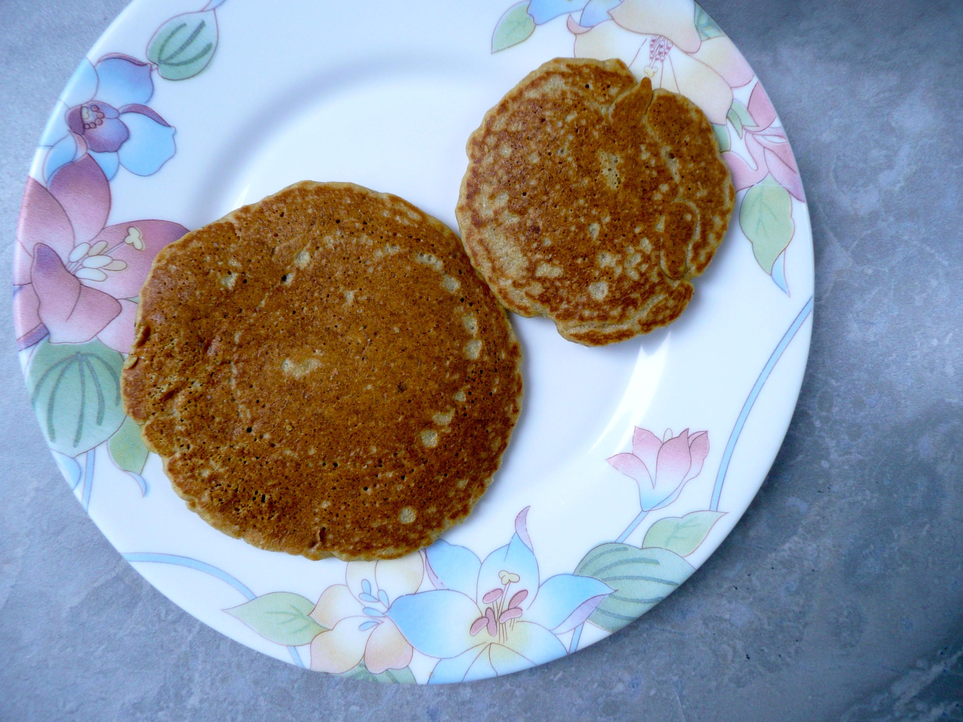 pancake duo closeup