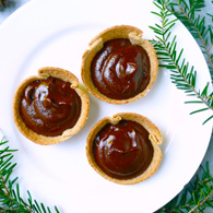 mini chocolate peppermint pies