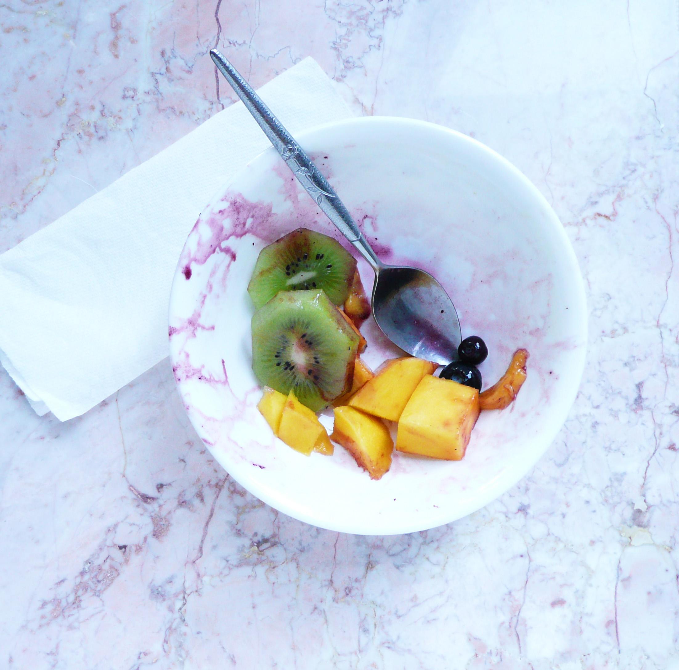 fruit salad empty